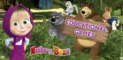Masha and the Bear. Educational Games v5.0
