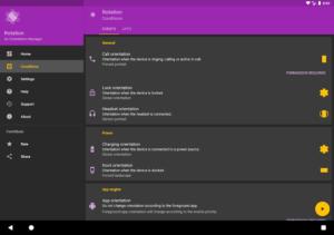 تصویر محیط Rotation – Orientation Manager v14.2.0