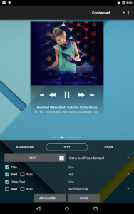 تصویر محیط Poweramp Music Player v3 Full alpha-build-823