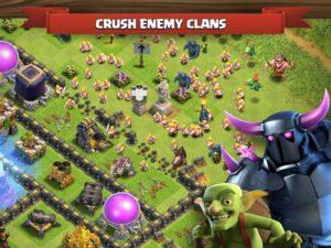 تصویر محیط Clash of Clans v11.651.19