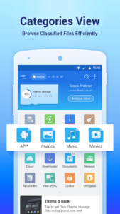 تصویر محیط ES File Explorer File Manager v4.1.9.9.2