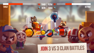 تصویر محیط CATS: Crash Arena Turbo Stars v2.18