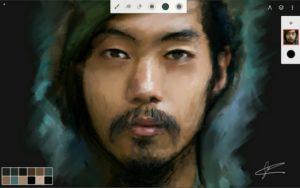 تصویر محیط Infinite Painter v6.3.59