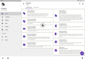 تصویر محیط Rotation – Orientation Manager v21.3.0