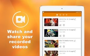 تصویر محیط Screen Recorder & Video Capture, My Video Recorder v1.6.7