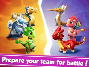 تصویر محیط Dragon Mania Legends v4.4.0d