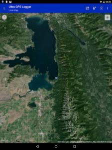 تصویر محیط Ultra GPS Logger v3.162