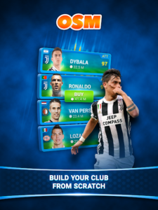 تصویر محیط Online Soccer Manager (OSM) v3.5.11.1