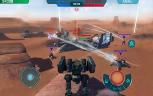 تصویر محیط War Robots v5.4.0 + data