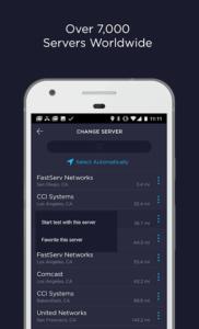 تصویر محیط Speedtest by Ookla Premium v4.5.15