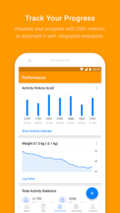 تصویر محیط Virtuagym Fitness Tracker – Home & Gym v9.4.2