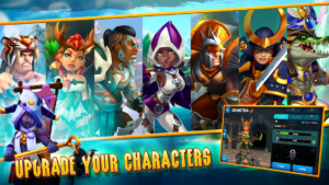 تصویر محیط Wartide: Heroes of Atlantis v1.13.5