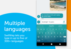 تصویر محیط SwiftKey Keyboard v7.3.3.12