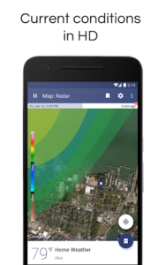 تصویر محیط NOAA Weather Radar & Alerts v1.38.1
