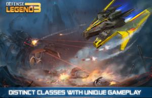 تصویر محیط Defense Legend 3: Future War v2.6.9
