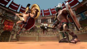 تصویر محیط Gladiator Heroes: Clan War Games v3.2.7 + data