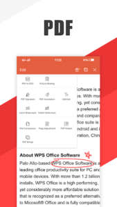 تصویر محیط WPS Office – Word, Docs, PDF, Note, Slide & Sheet v12.6