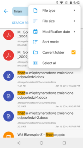 تصویر محیط Solid Explorer File Manager v2.7.6