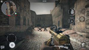 تصویر محیط World War Heroes: WW2 Shooter v1.21.7 + data