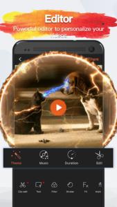 تصویر محیط VivaVideo Pro: Video Editor v8.8.0