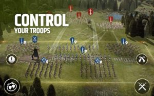تصویر محیط Dawn of Titans – Epic War Strategy Game v1.39.0 + data