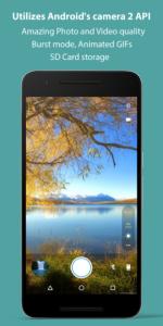 تصویر محیط Footej Camera Premium v2.4.4