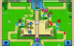 تصویر محیط Bloons TD Battles v6.7.2