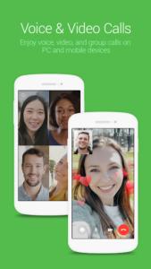تصویر محیط LINE: Free Calls & Messages v11.0.1
