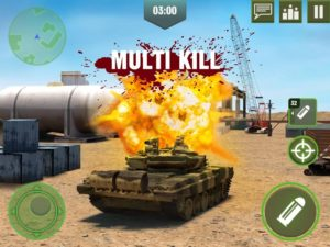 تصویر محیط War Machines: Free Multiplayer Tank Shooting Games v4.18.0