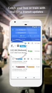 تصویر محیط Maps – Navigation & Transit v10.23.2
