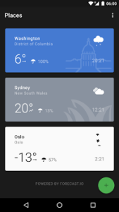تصویر محیط Weather Timeline Ad Free – Forecast v12.4.15