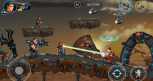تصویر محیط Alpha Guns 2 v9.5.0