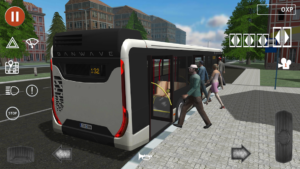 تصویر محیط Public Transport Simulator v1.34
