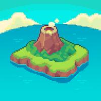 بازی ماجراجویانه بازسازی جزیره و کشف اسرار آن آیکون