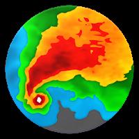نرم افزار پیش بینی آب و هوا با نقشه های جغرافیایی آیکون
