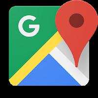 نرم افزار نقشه گوگل آیکون
