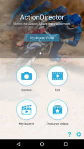 تصویر محیط ActionDirector Video Editor – Edit Videos Fast v5.0.1