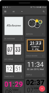 تصویر محیط UCCW – Ultimate custom widget v4.8.9