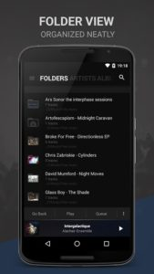تصویر محیط BlackPlayer EX v20.60 build 394