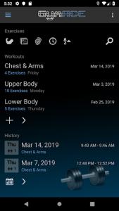 تصویر محیط GymACE Pro: Workout Tracker & Body Log v2.0.3-pro