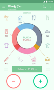 تصویر محیط Monefy Pro – Money Manager v1.9.13