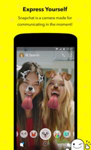 تصویر محیط Snapchat v10.86.5.61