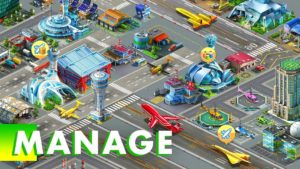 تصویر محیط Airport City: Airline Tycoon v8.8.16