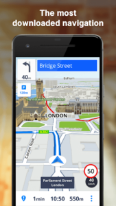 تصویر محیط GPS Navigation & Maps Sygic v20.0.3 + data