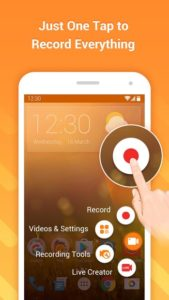 تصویر محیط DU Recorder – Screen Recorder, Video Editor, Live v2.1.5.1