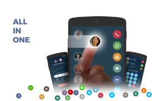 تصویر محیط Contacts, Phone Dialer & Caller ID: drupe v3.3.10