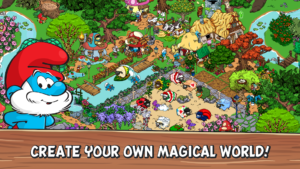 تصویر محیط Smurfs' Village v1.75.0 + data