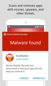تصویر محیط Norton Security and Antivirus v4.5.1.4376