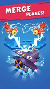 تصویر محیط Merge Plane – Click & Idle Tycoon v1.13.7