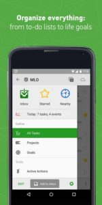 تصویر محیط MyLifeOrganized: To-Do List Pro v3.2.4